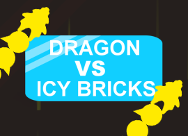 Dragon vs. Icy Bricks